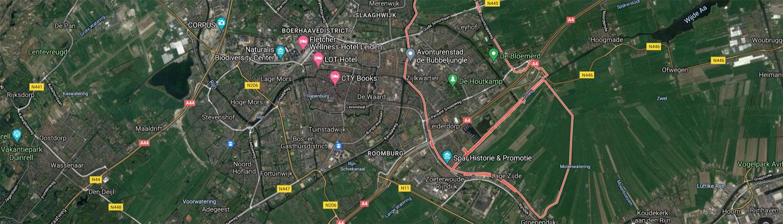Google Maps Leiderdorp